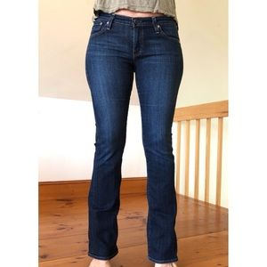AG The Angel Bootcut Mid Rise Jeans